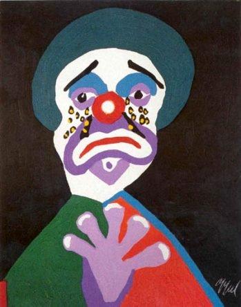 Clown aux Larmes d'or