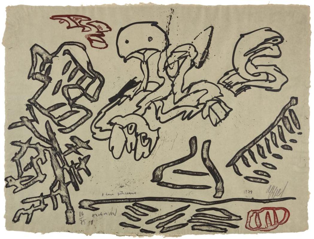 A Deux Pinceaux (avec Pierre Alechinsky)