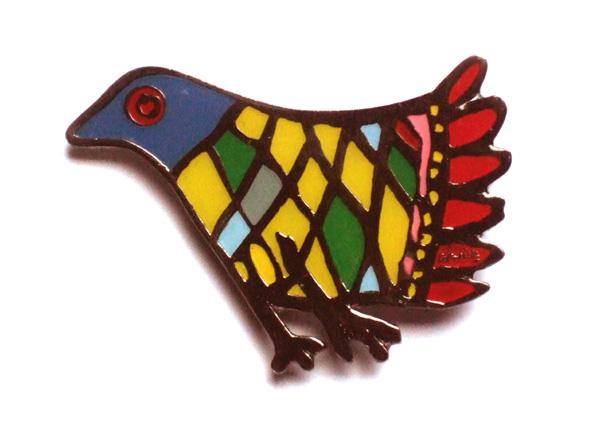 L'oiseau aux multiples couleurs