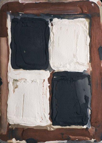 Zwart / wit / bruin