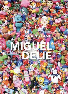 Cover book 'Happyland' Miguel Delie