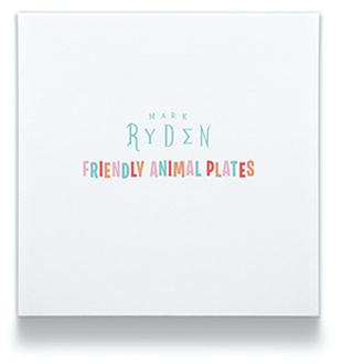 Friendly Animal Plates