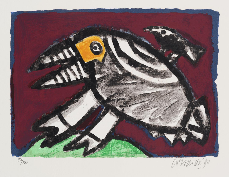 L'oiseau Bordeaux