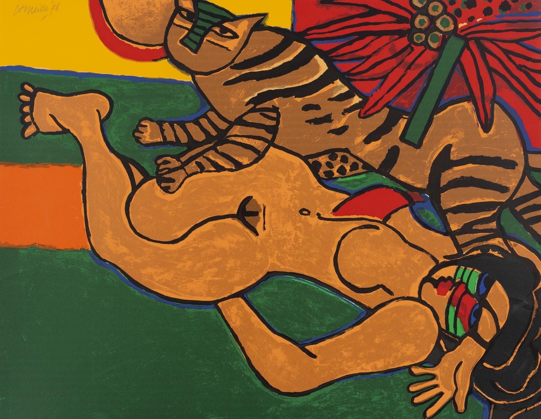 Femme au Tigre