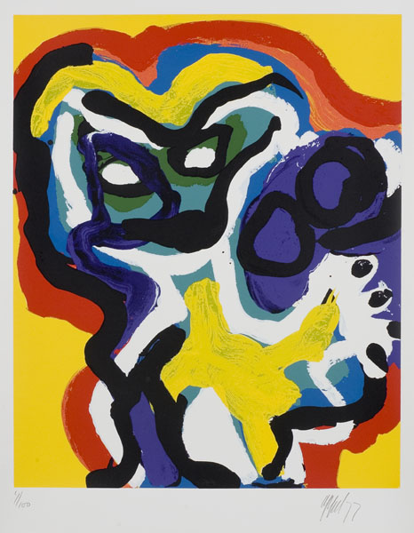 Wednesday - Yellow Flower Head
