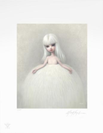 Girl in a Fur Skirt