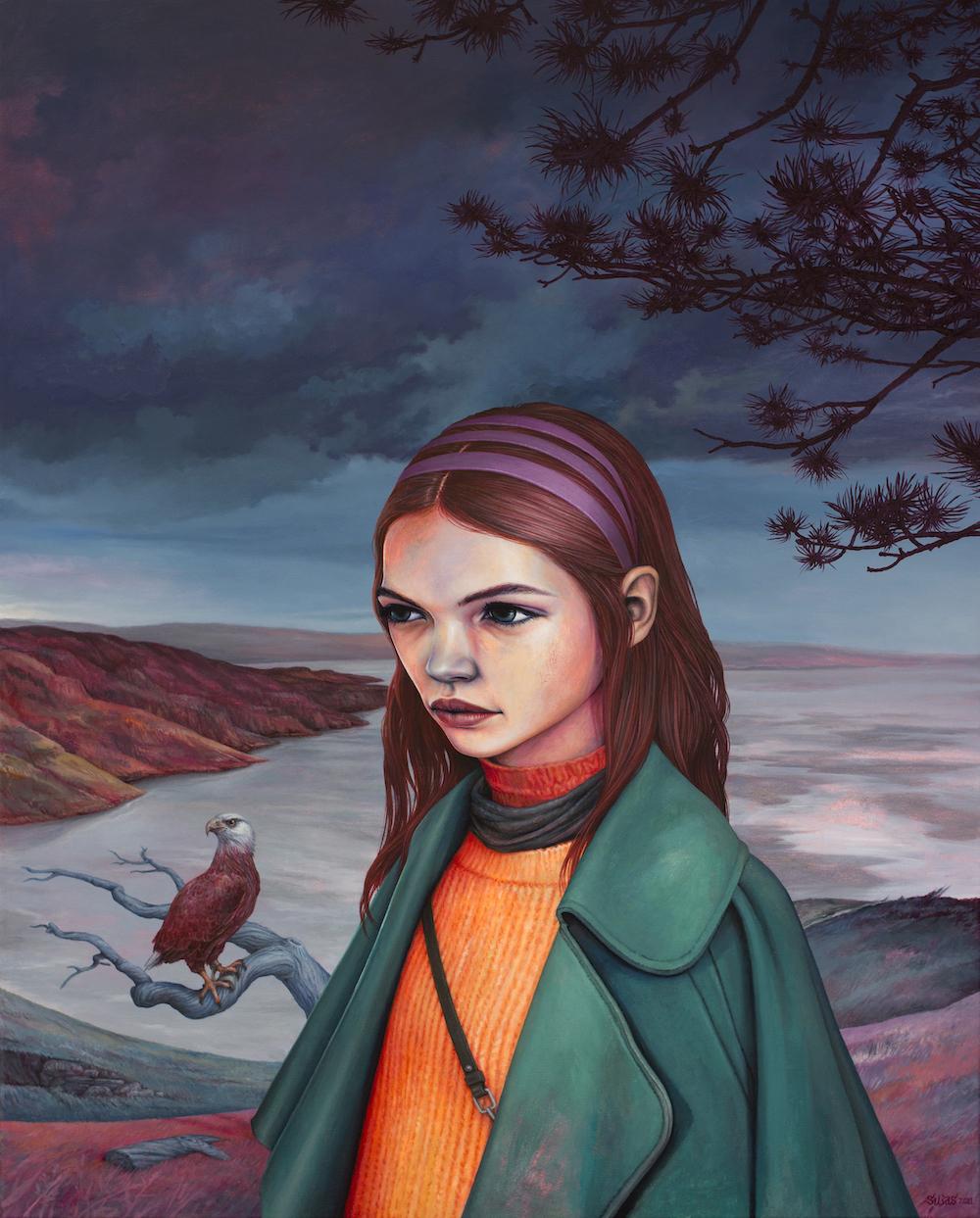 Silas - Farane Faro - oil on canvas - 100 x 80 cm - 2021s